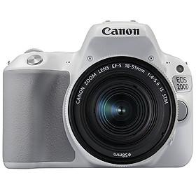 Canon 200D mark II Kit 18-55MM IS STM ( Trắng) - Hàng chính hãng