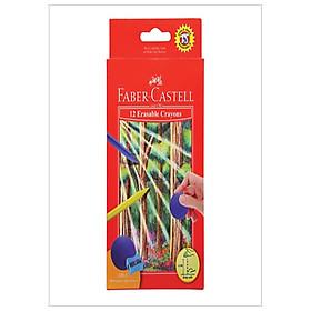 Bút Sáp Màu - 12 Màu (Có Thể Tẩy Được) Faber-Castell-122530