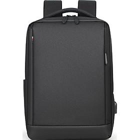 Balo đựng Macbook, Laptop 16 inch chống nước kèm cáp sạc ẩn