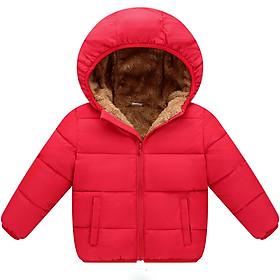 Áo khoác lông cừu dành cho bé trai hoặc bé gái