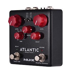 Bộ Chỉnh Hiệu Ứng hỗ Trợ Độ Trễ Và Dội Lại Cho Guitar NUX ATLANTIC