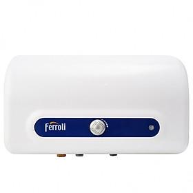 Bình nước nóng Ferroli QQEvo AE 50L, chống cặn, chống giật, công suất 2500W - Hàng Chính Hãng