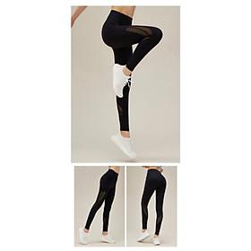 Quần thể thao Nữ Cao Cấp Tập Gym, Yoga , Aerobic siêu nhẹ ,siêu co giãn - Q63-2