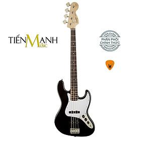 Đàn Guitar Bass Fender Squier Affinity Series Jazz Laurel Fingerboard Ghitar - Black Hàng Chính Hãng - Kèm Móng Gẩy DreamMaker