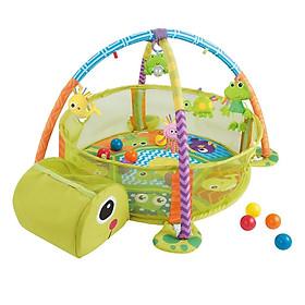 Thảm Nằm Chơi Hình Con Rùa 2 Trong 1 Konig Kids KK63571B