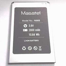 Pin cho điện thoại Masstel N668 - Hàng nhập khẩu