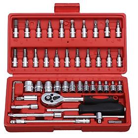 Bộ dụng cụ tháo vặn ốc vít TV-46, Bộ dụng cụ mở ốc vít 46 chi tiết