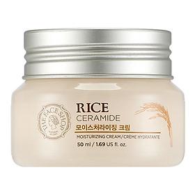 Kem Dưỡng Ẩm Chiết Xuất Từ Gạo The Face Shop Rice & Ceramide Moisture Cream 50ml
