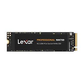 Ổ cứng SSD Lexar Professional NM700 1TB PCIe Gen3x4 M.2 2280 NVMe 3500MB/s - Hàng Chính Hãng