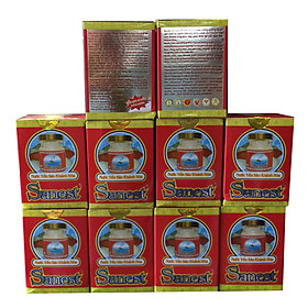 10 hũ nước yến sào Sanest không đường (70 ml/hũ)