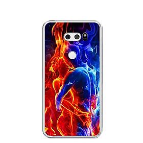 Ốp lưng dẻo cho điện thoại LG V30 - 0251 UNLIMITED01 - Hàng Chính Hãng