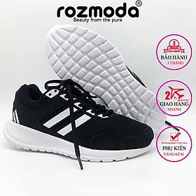Giày thể thao nam nữ sneaker unisex chạy bộ cao su non êm mềm nhẹ 2.0 Rozmoda G24