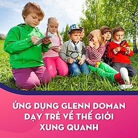 Ứng Dụng Glenn Doman Dạy Trẻ Về Thế Giới Xung Quanh