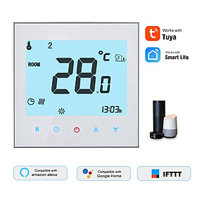 THP1000-UHPW Electric Heating Thermostat Smart WiFi Digital Temperature Controller Tuya/SmartLife APP Control Backlit