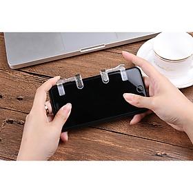 Nút Bấm Chơi Game PUBG / ROS - Chất Liệu Plastic Nút Cảm Ứng Mới Dòng Nút Bấm O Dog Cơ Màu Trong Suốt Khóa Sắt