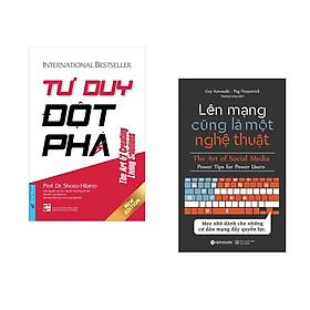 Combo 2 cuốn sách: Tư Duy Đột Phá (khổ lớn) + Lên mạng cũng là một nghệ thuật
