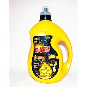 Nước xả giặt quần áo Huơng Hoa Pháp 3,5 lít- Di-mark (vàng) - Toả hương thơm ngát