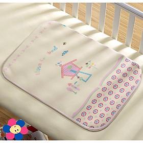 Lót chống thấm 4D cho bé - Tặng kèm 01 bịch giấy lót phân su cho bé