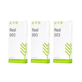 Bao Cao Su EVE Real 003 - Best Seller - Mỏng chân thật - Feel chạm đỉnh