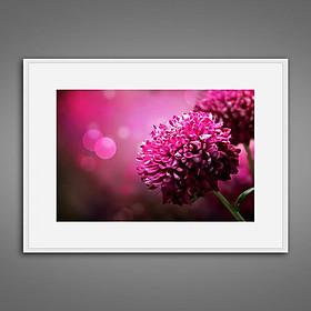 Hình đại diện sản phẩm Khung tranh Canvas đơn hoa lá 22