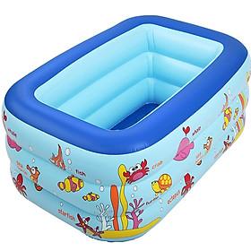 Bể Bơi Phao 3 Tầng Cho Cả Gia Đình Size 1m3,1m5 1m8 (Tặng Kèm Vịt Thả Bể Bơi)