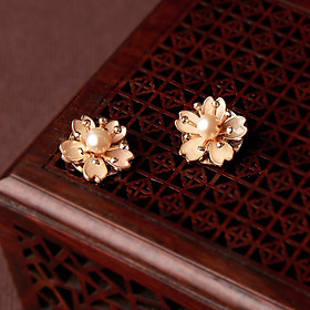 Bông tai hoa cúc nhỏ (BT041)