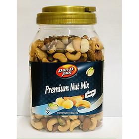Premium Nut Mix không muối 560g - Dan D Pak