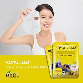 Combo 10 mặt nạ dưỡng da tặng 3 mặt nạ dưỡng da bất kỳ EKEL Royal Jelly ULtra Hydrating Essence Mask