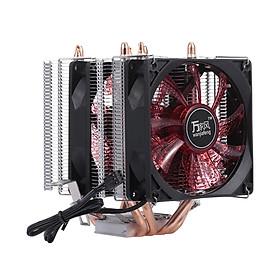 Quạt Tản Nhiệt CPU Heatsink 4 Heatpipe 2 Hỗ Trợ 775 / 115x / AMD
