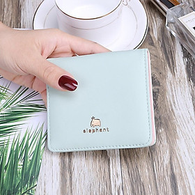 Ví bóp nữ cầm tay đựng tiền nhỏ mini siêu đẹp phối hình thú cưng VN30