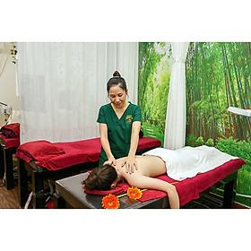 Massage Body thư giãn Thái + Nhật + Tinh dầu + Đá nóng + Ngâm chân thảo dược (100 phút).