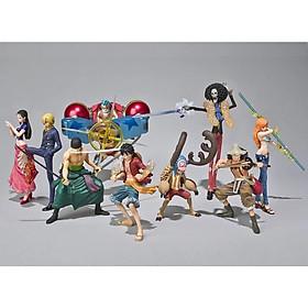 9 Mô Hình One Piece Luffy Tàu cướp Biển Làm Bằng Tay Trang Trí