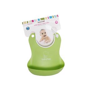 Yếm Ăn Bằng Nhựa Hình Gấu Babyhop BH-0401