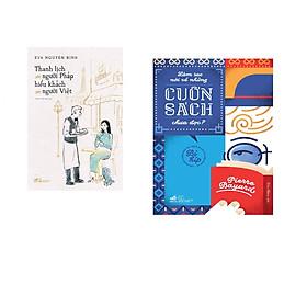 Combo 2 cuốn sách: Thanh lịch như người Pháp, hiếu khách như người Việt + Làm sao nói về những cuốn sách chưa đọc?