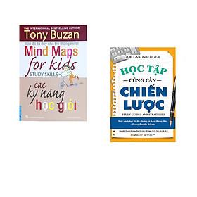 Combo 2 cuốn sách: Tony Buzan - Các Kỹ Năng Học Giỏi + Học Tập Cũng Cần Chiến Lược