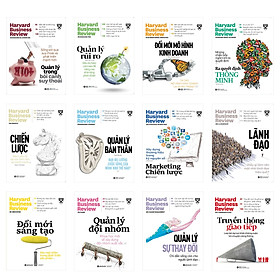 Combo Harvard Business Review On Point Trọn Bộ 12 Cuốn