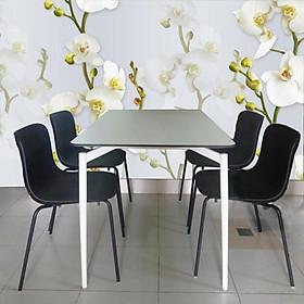 Bộ bàn ăn 1m2 Cult và 4 ghế Lavoro cao cấp hcm