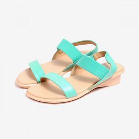 Giày Sandal Si PU Bé Gái Biti's DPB053888XNG - Xanh Ngọc