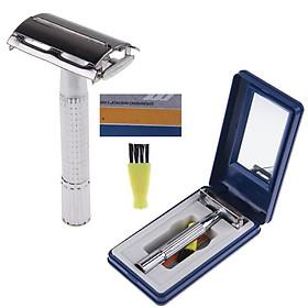 Dụng cụ cạo râu cổ điển, đẹp, sang trọng, sạch mịn màng tặng kèm hộp sang trọng - LD007