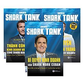 Combo 3 Cuốn Huấn Luyện Kinh Doanh Cùng America Shark Tank (Tặng kèm Kho Audio Books)