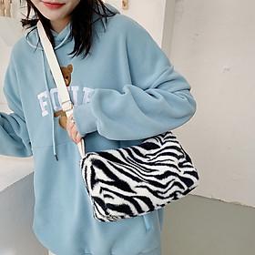 Túi đeo chéo phong cách xách Nhật Bản thời trang cho nữ vải