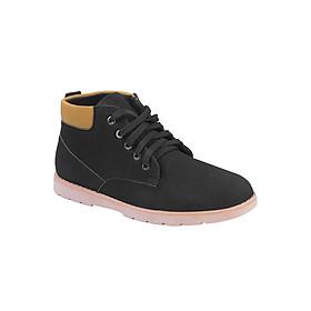 Giày Boot Da Lộn Zapas GB002BA - Đen