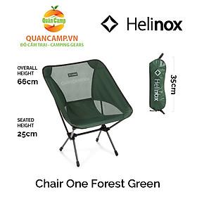 Ghế dã ngoại xếp gọn Helinox Chair One Forest Green
