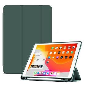 Bao da thông minh cho máy tính bảng iPad 2020/2019 10.2/10.5/9.7 gen 8 7 6 5 air 3 2 1 mini 5 mini 4Chức năng đánh thức và ngủ tự động với khay đựng bút