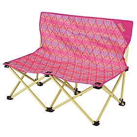 Ghế Xếp Đôi Fun Chair Coleman 2000022003 - Hồng (89 x 54 cm)