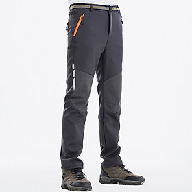 Men Hiking Pants Outdoor Climbing Trekking Camping Thin Loose Casual Sports Zipper Pockets Quick Dry Pants Trousers