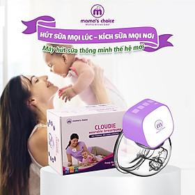 Máy Hút Sữa Không Dây Mama's Choice Cloudie | Máy Hút Sữa Rảnh Tay Dùng Pin Sạc Tiện Lợi Cho Mẹ Hút Sữa Mọi Lúc Mọi Nơi