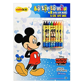 Bộ Tập Tô Màu Mickey Thiên Long CB-C019/MI