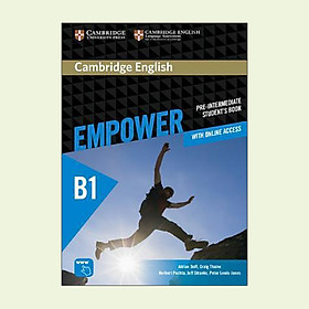 Cambridge English Empower Pre-Intermediate Student's Book with Online Assessment and Practice, and Online Workbook: Pre-intermediate