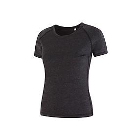 Áo tập gym nữ, tập Yoga thể thao cao cấp, co giãn 4 chiều thấm hút mồ hôi AT09